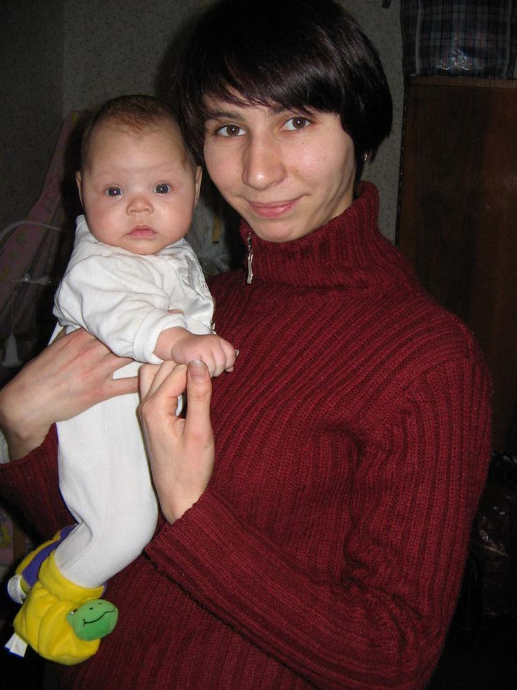 с тетей Ириной