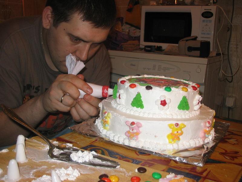 Домашние торты своими руками