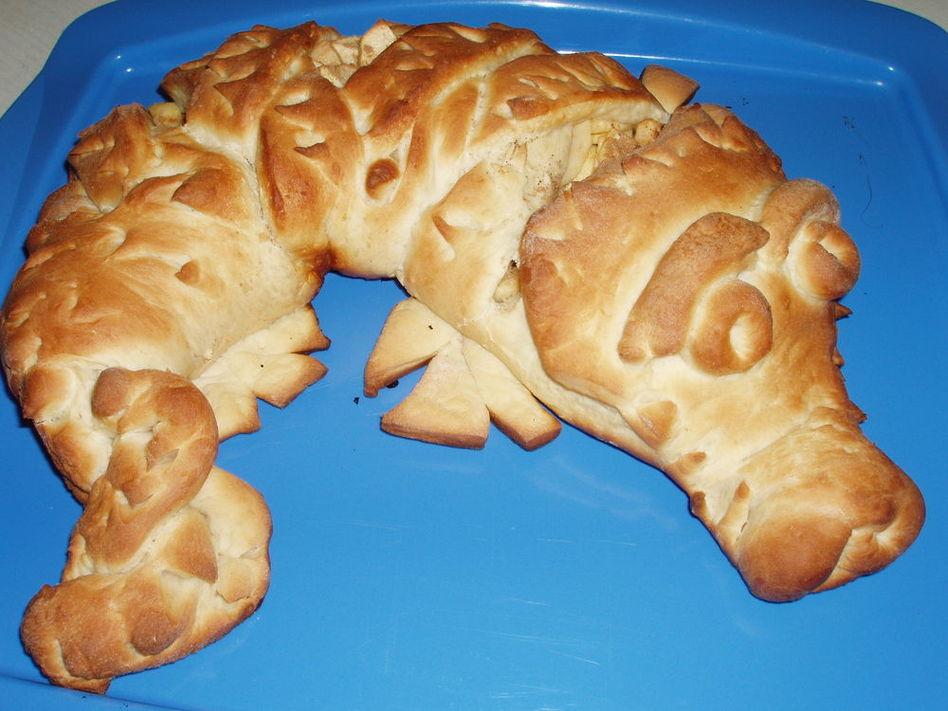 Пирог крокодил