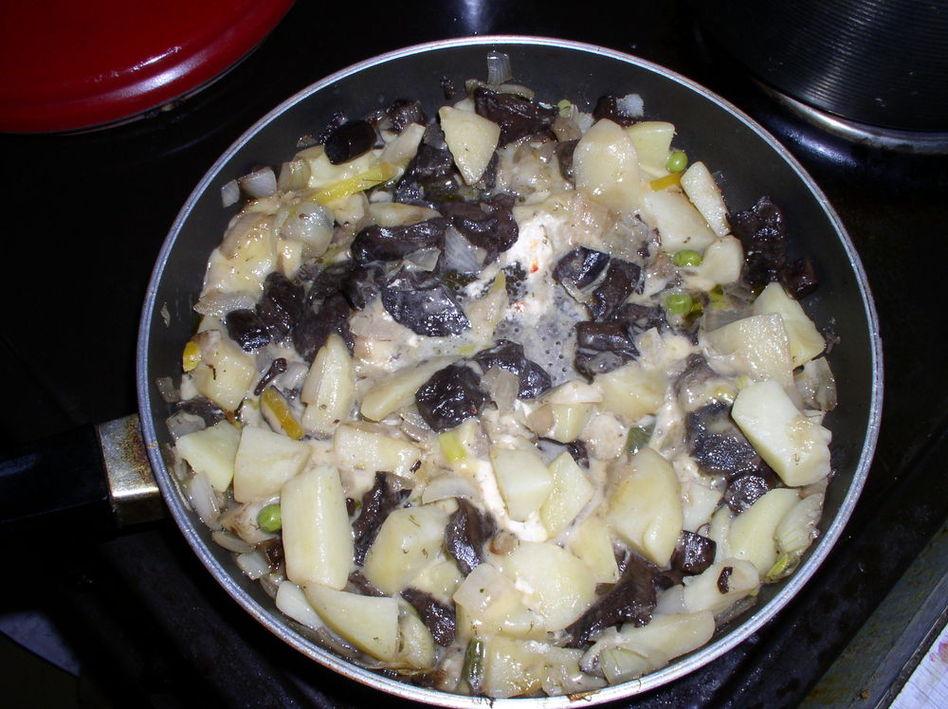 Грибочки с картошечкой