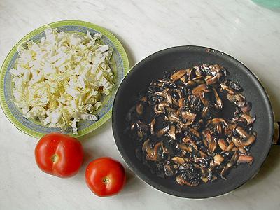 Шампиньоны с чесноком и майонезом салат