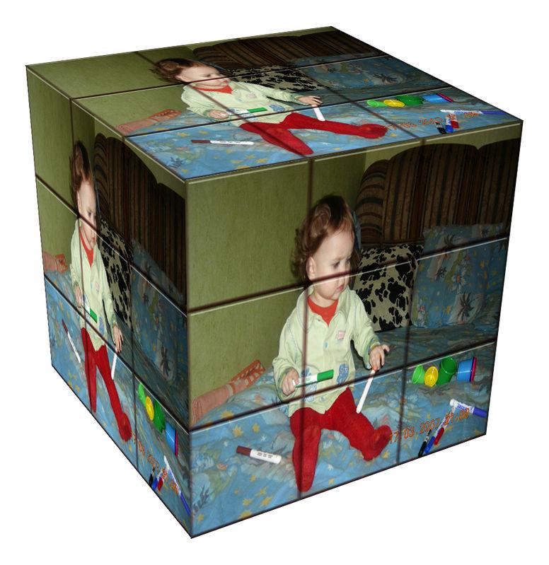Куб с фотографиями своими руками 96