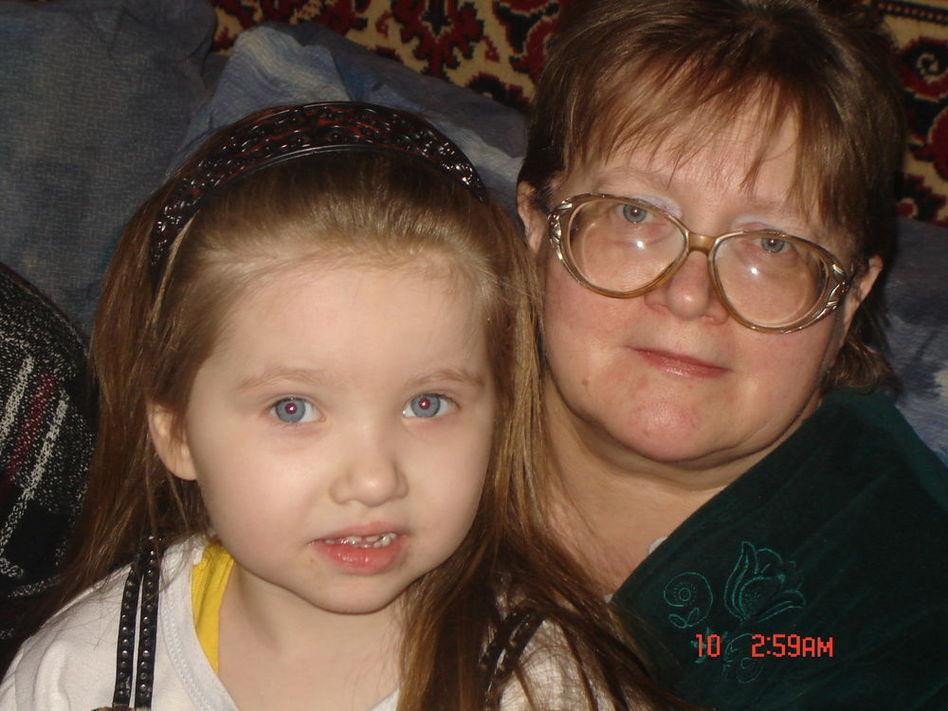вероничка с бабушкой