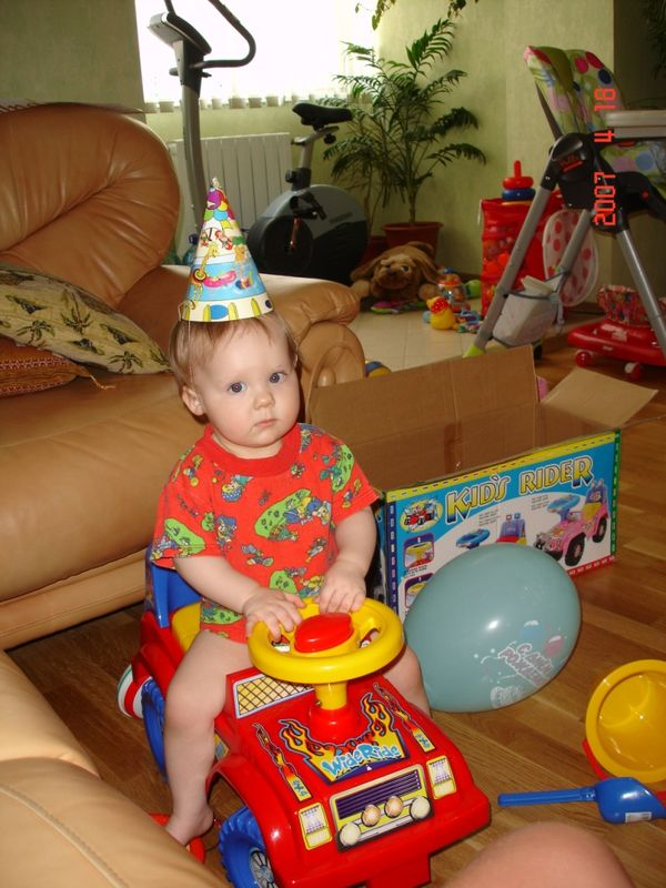 Подарки на 1 год ребенку 47