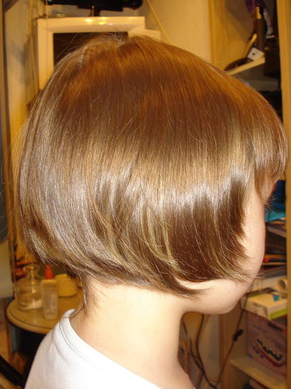 Стрижки для объема волос.для подростков