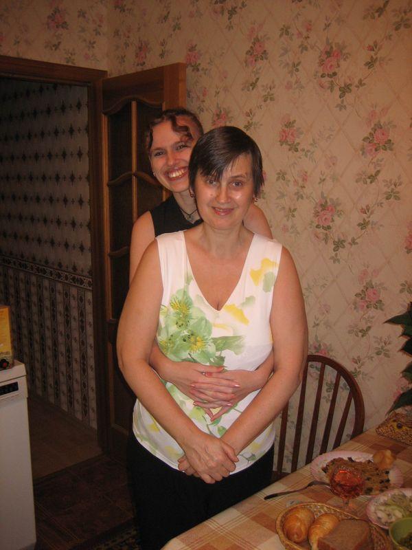 26 день рождения (я с мамой)