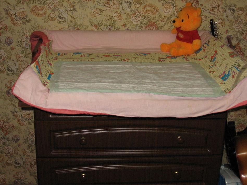 Пеленальная доска на кроватку своими руками мастер класс 59