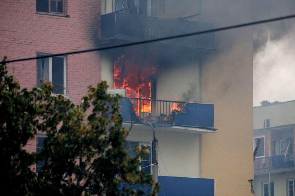 В москве горят балконы информационное агентство fwnews.