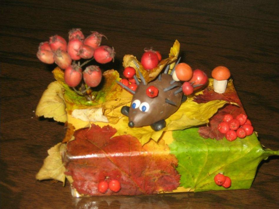 поделка для сада на тему Осень