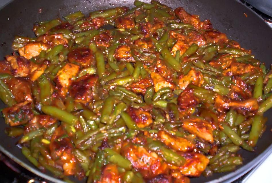 Блюдо из зеленой фасоли рецепты с фото
