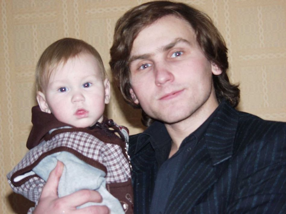 Со старшим сыном