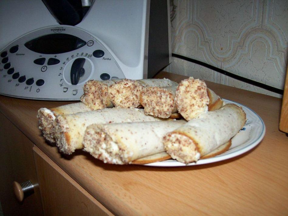 Трубочки с орехами рецепт с фото пошагово