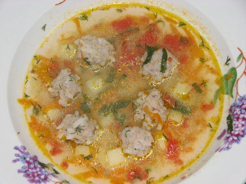 Капустный суп с фрикадельками рецепт 176