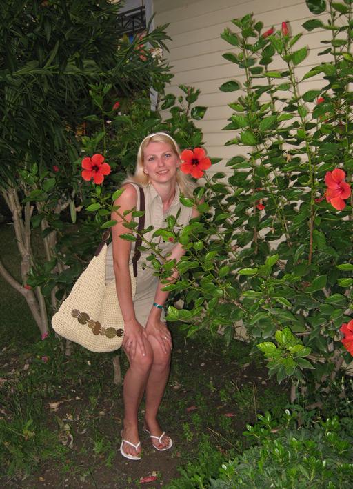 В цветочках