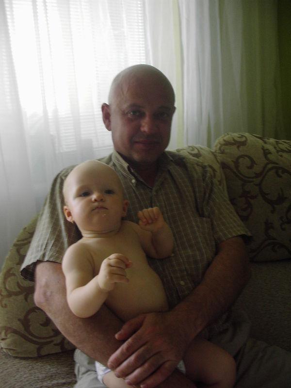Я с дедушкой!
