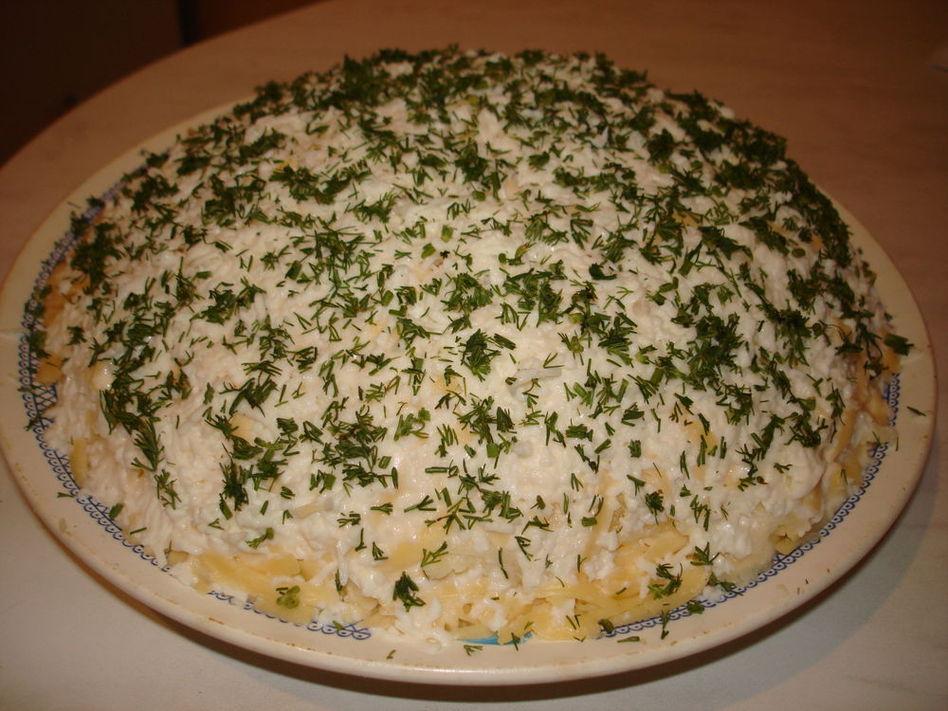 Салат махровый рецепт с