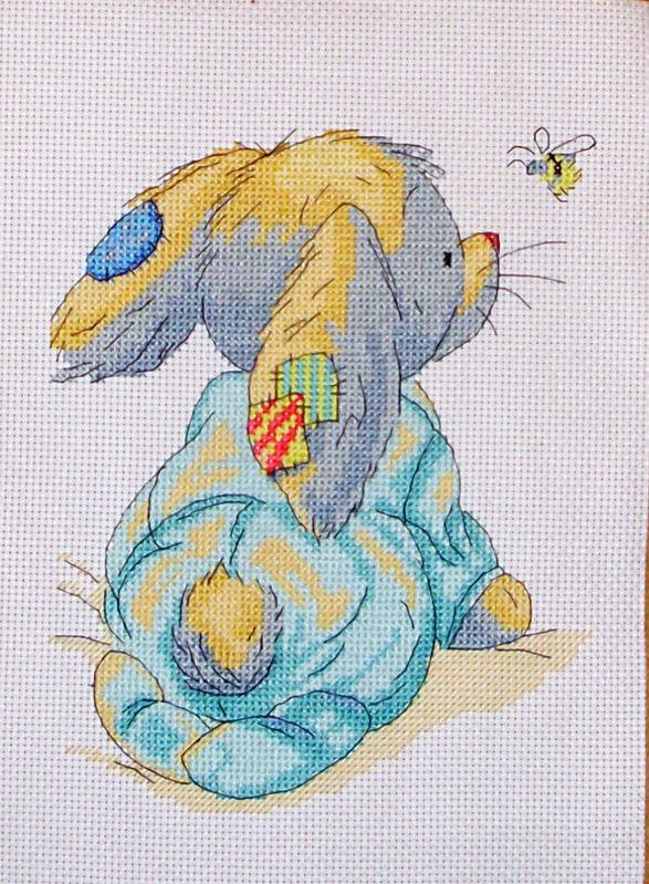 Зайка (Схема для вышивки