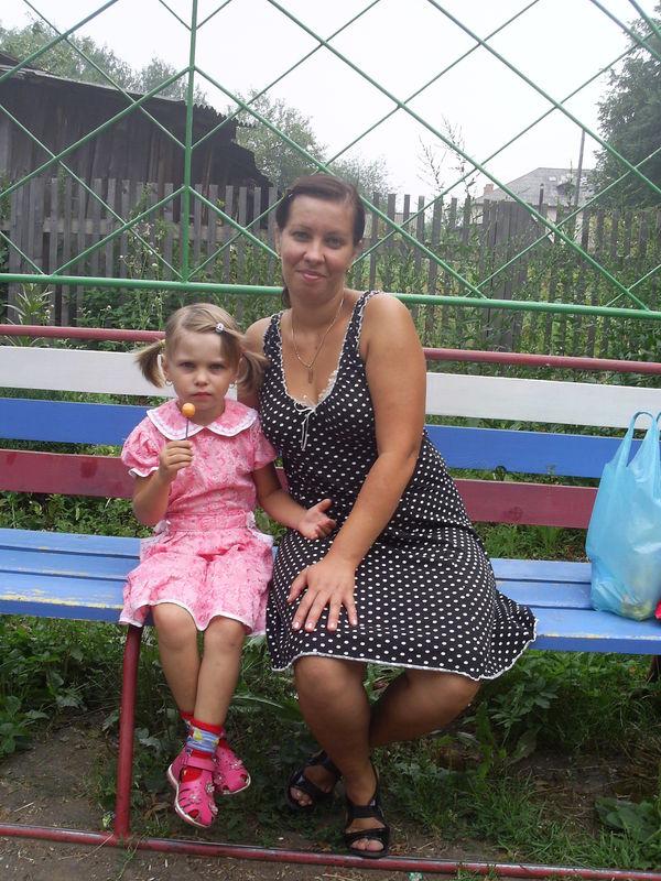 Я с дочерью