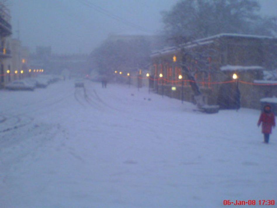 Такая у нас вот зима была)))