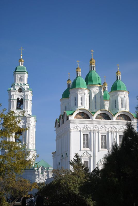 Астраханский кремль...