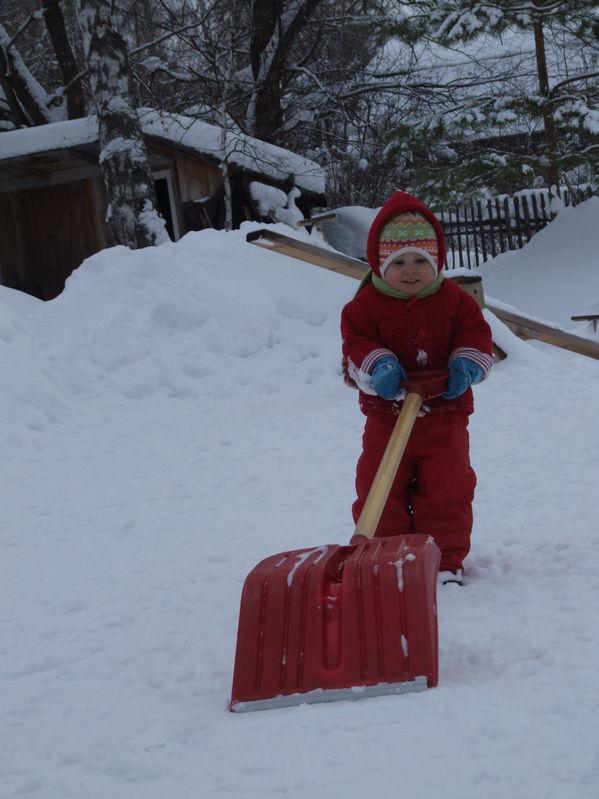 После снегопадов..задействовали резервы