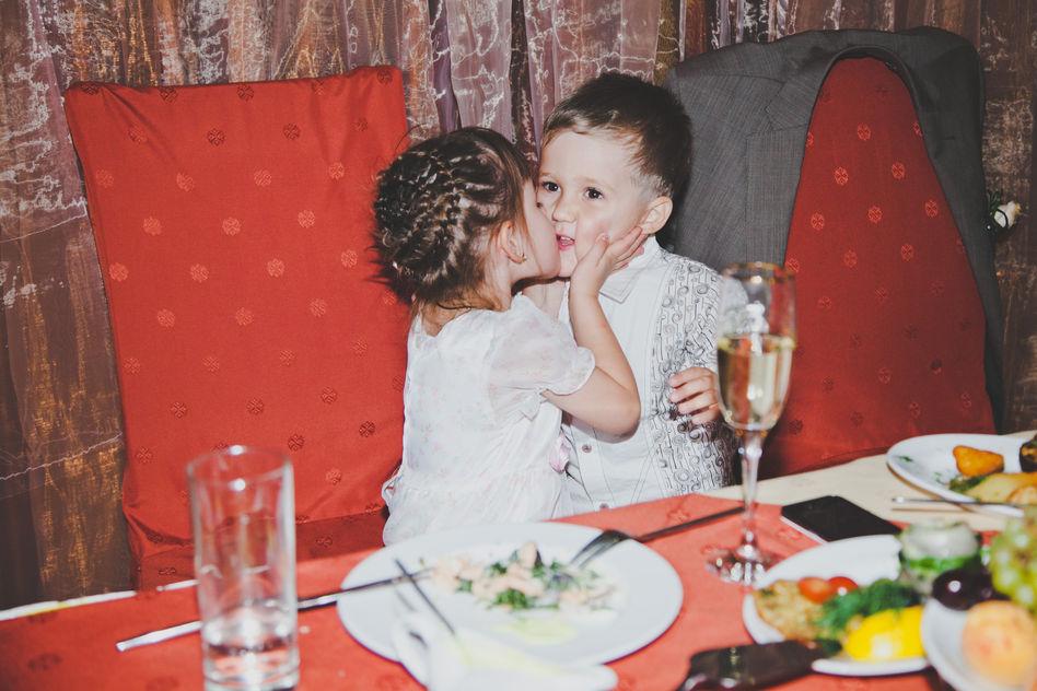 На свадьбе Алиса и Савва