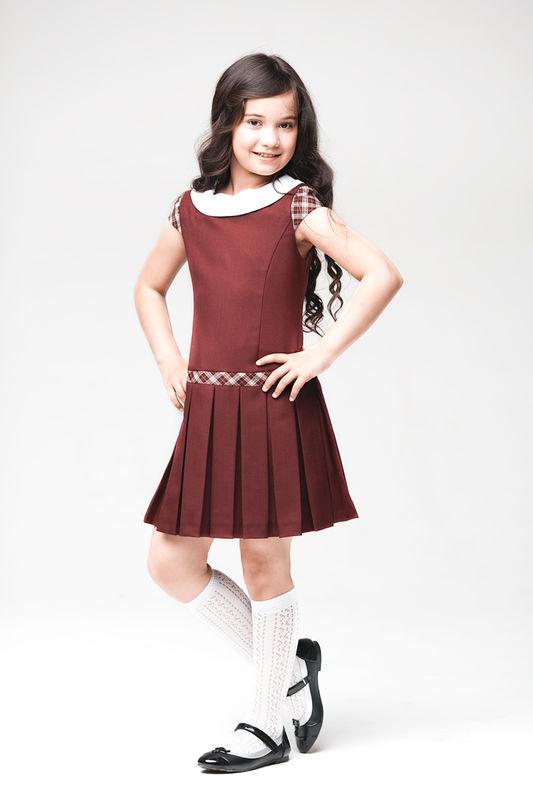 Школьная форма платье для девочек 2017