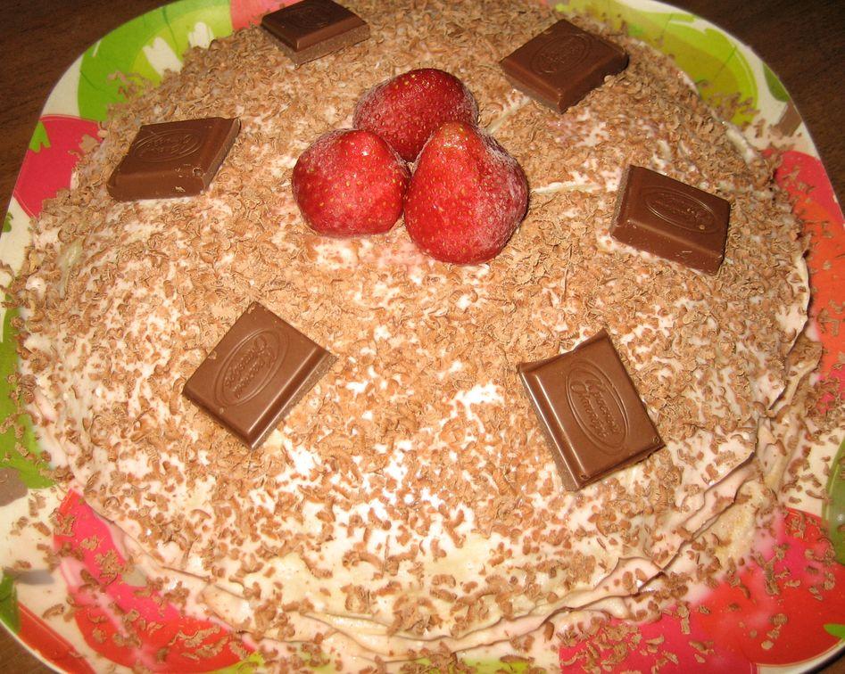 Блинный тортик!!!