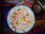 Легкий крабовый салатик