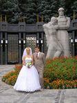 Мы с мужем в день нашей свадьбы!