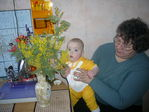 подарю я мимозу бабушке на 8 марта