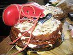 торт с башмаком