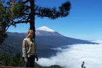 вулкан Тейде-самая высокая точка в Испании
