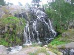 В зоопарке. Просто красивый водопад.