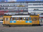 Старый трамвай в Turku.