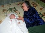 Бабуля и Савва!