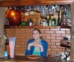 в гостях в баре