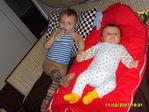 Ютта с двоюродным братом Максом
