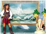 Пиратка Карибского моря..