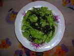 Салатик с морской капустой