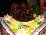 второй тортик.