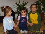 Анитка с сестричкой и другом.