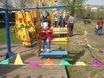 На каруселях в парке Коломенское