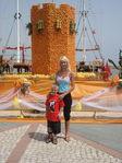 апельсиновая башня празник день туризма в Алании