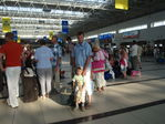 В аэропорту Анталии.