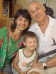Саша, мама и дед