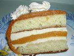 творожный торт с курагой