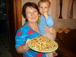Бабушка тортик испекла! :)