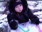А это первая зима...
