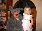 Папа-Новогодний  Мышь и Аринка